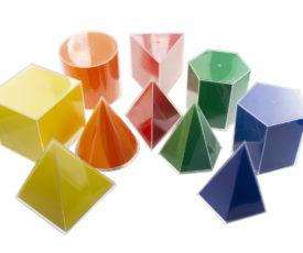 геометрические фигуры с разверткой