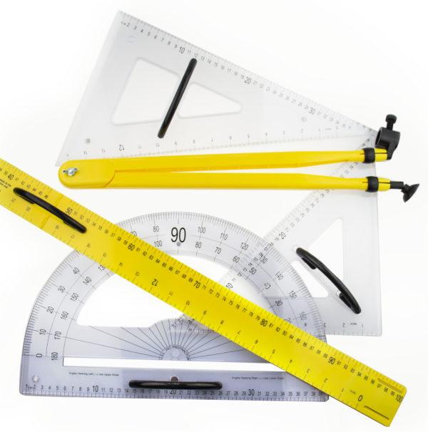 Демонстрационный набор классного инструмента