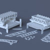 Конструктор для вивчення різних конструкцій (модель)