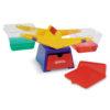 Контрольно-вимірювальні терези - набір мірного посуду (пластиковий)