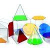 Демонстраційний набір моделей геометричних тіл - Геометричні фігури, геометричні тіла та їх властивості