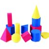 Набір моделей геометричних фігур - Геометричні фігури, геометричні тіла та їх властивості