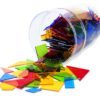 Лічильний матеріал (пластикові геометричні фігури) - Геометричні фігури, геометричні тіла та їх властивості (великий набір)