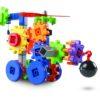 Ігровий набір для конструювання з різними способами з'єднання деталей - Рухомі машини і шестерні