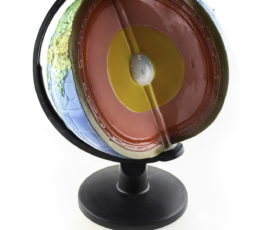 глобус без сегмента Земної кори