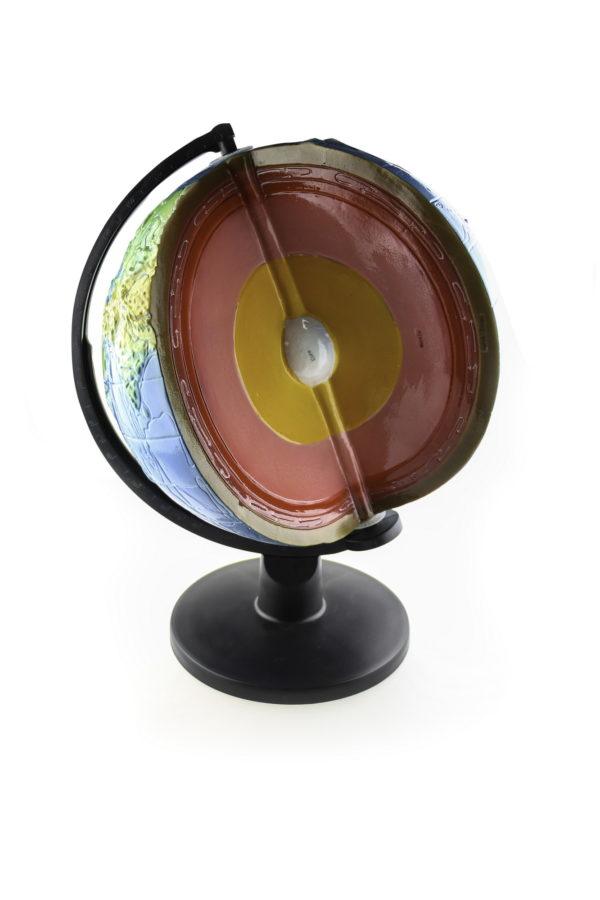 глобус без сегмента Земной коры