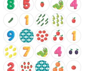 Настольная игра по изучению состава числа