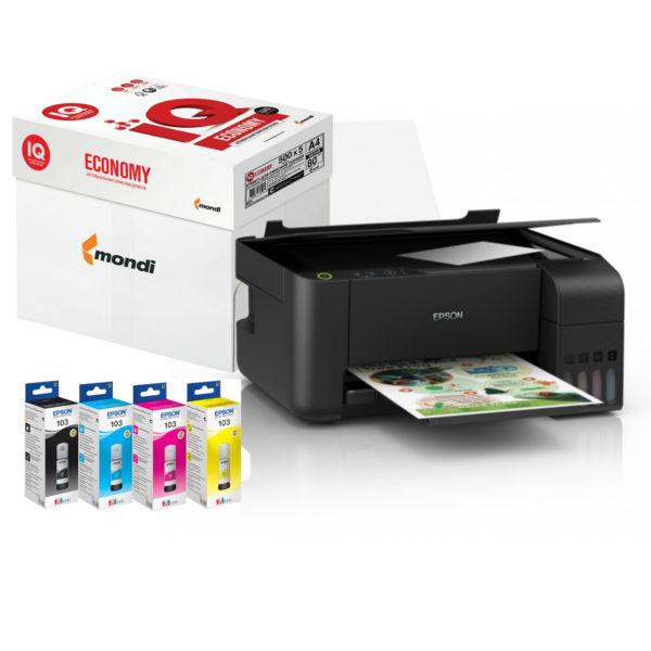 бфп принтер сканер копір з чорнилами і запасом паперу